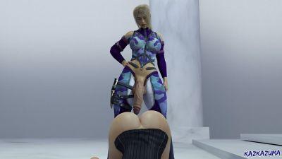 [Kazkazuma] Ths Audition Edited [3D Porn Comic] futanari