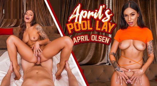 April's Pool Lay - April Olsen Oculus Rift