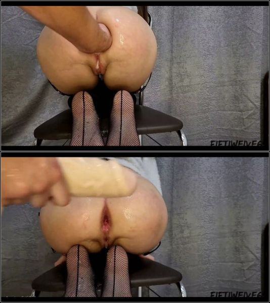 Anal Fisting - powerful fisting workout with Fiftiweive69  (FullHD/1080p) [2021]