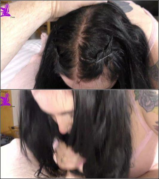 Hairjob Heaven - Haydies - FaceFuckGaggingCum on Hair [FullHD 1080p] (Blowjob)