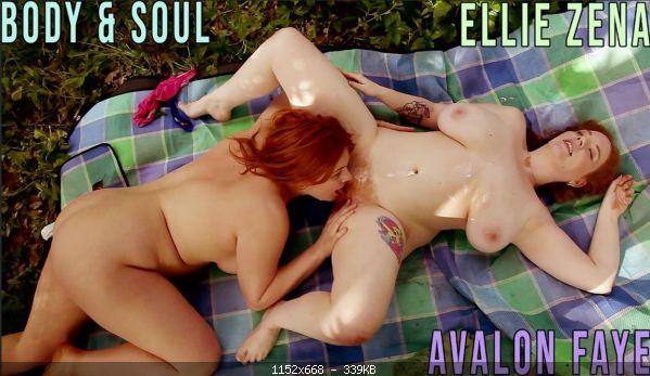 Lesbimania Avalon Faye & Ellie Zena  (Body And Soul)