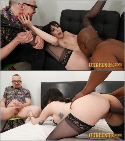 April Storm - Horny Housewife April Storm Offers Herself To Big Black Cock Cuckold [FullHD 1080p] (Interracial)