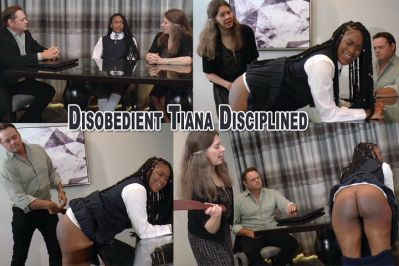SpankingSarahGregory – Disobedient Tiana Disciplined