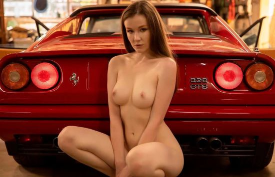 Ferrari - Beautiful Amateur Solo Striptease Smartphone