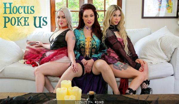 Group Haley Spades, Jessica Ryan & Kenzie Reeves – Hocus Poke Us