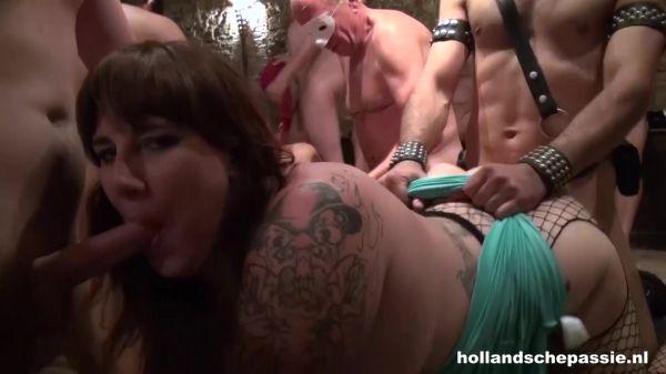 Amateur - Gangbang The Movie 1 (10.06.2021) [FullHD 1080p] (HollandschePassie)