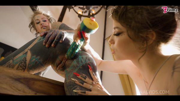 LegalP0rno - ANAL gaping tattooed TEENS - SQUIRT, toys, prolapse, ATOGM - Anuskatzz, Eden Ivy - goth, punk, alt porn - ZF007 with Anuskatzz, Eden Ivy (FullHD/1080p) [2021]