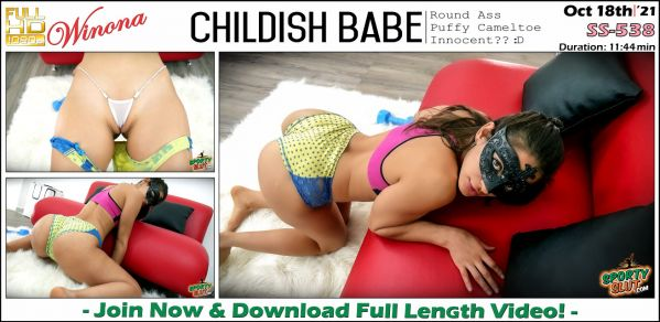 Winona - Childish Babe - SS-538 (18.10.2021) [FullHD 1080p] (Sportyslut)