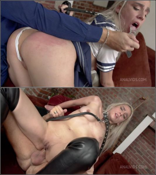 LegalP0rno: Foxy Slave - First casting & hard Anal fuck for Foxy Slave FLX016 (HD/720p)