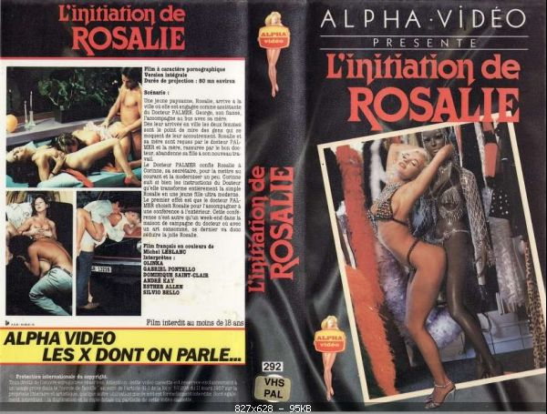 L' initiation de Rosalie (1983) DVDRip
