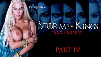 ZZSeries   Peta Jensen   Storm Of Kings XXX Parody: Part 4