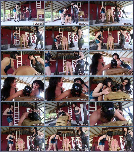Merciless Caning Female Domination
