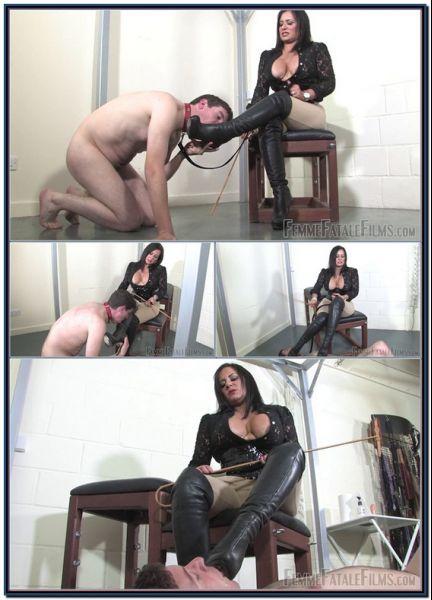 Boot Polisher Female Domination Foot Fetish