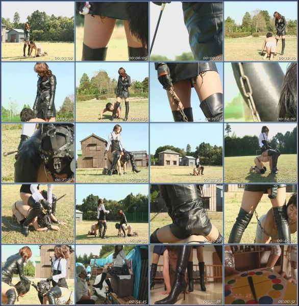 Love Boots Vol 20 Asian Femdom