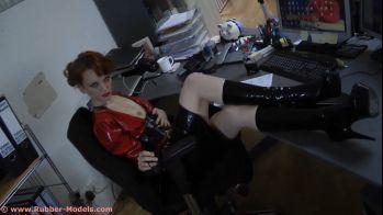 Secretary in Latex