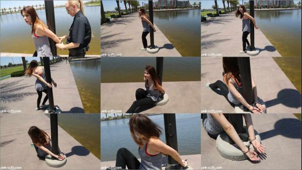 Cuffed outdoors girls