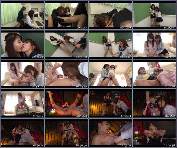 DIV-235 Gangstick Shootout Lesbians Hamasaki Maso Mari Ary Summer Asian Femdom Fetish