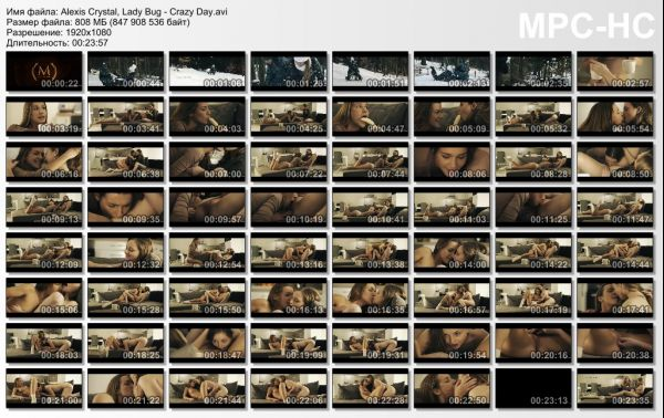 Alexis Crystal, Lady Bug: Crazy Day HD 1080p