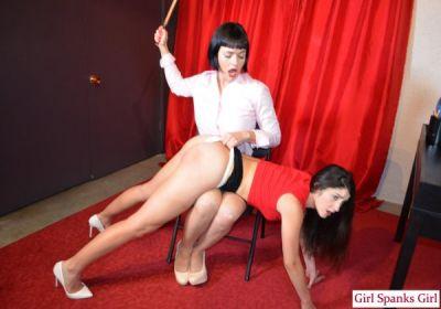Girl Spanks Girl – Snow Mercy, Arielle Lane – Bad Secretary: Day One