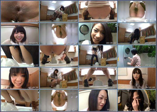 GCD-712 Beauty Amateur Toilet Asian Scat Scat Solo Girls