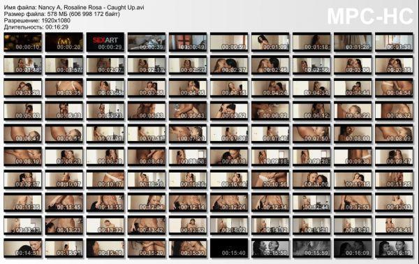 Nancy A, Rosaline Rosa: Caught Up HD 1080p