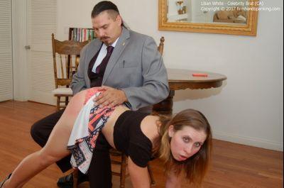 Really digging disobedient brat spank