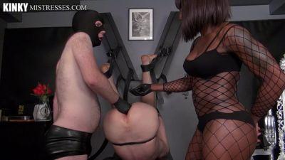 Kinky Mistresses – A Real Punished Slave