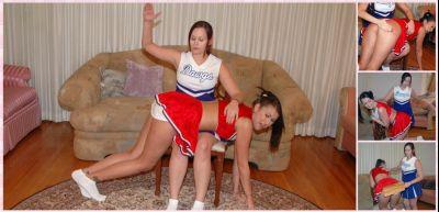 Spanking Sorority Girls – Episode 140: Cheerleader Spanking Contest