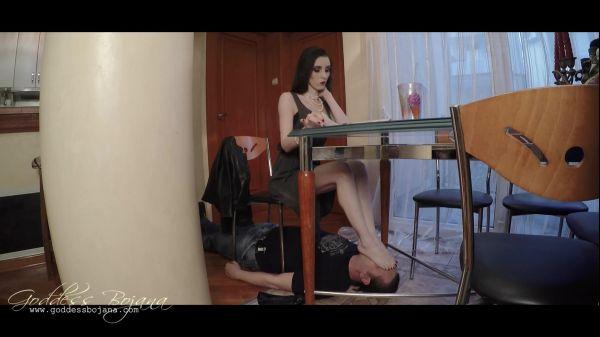 Goddess Bojana - I love playing with My sticky flats [FullHD 1080p] (GoddessBojana)