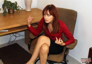 Veronica & Phoenix Office Spankings - image3