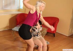 Kay Spanks Anikka And Rose - image4