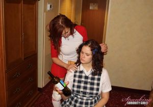 Strict Nun Spanks Veronica & Jenni - image3