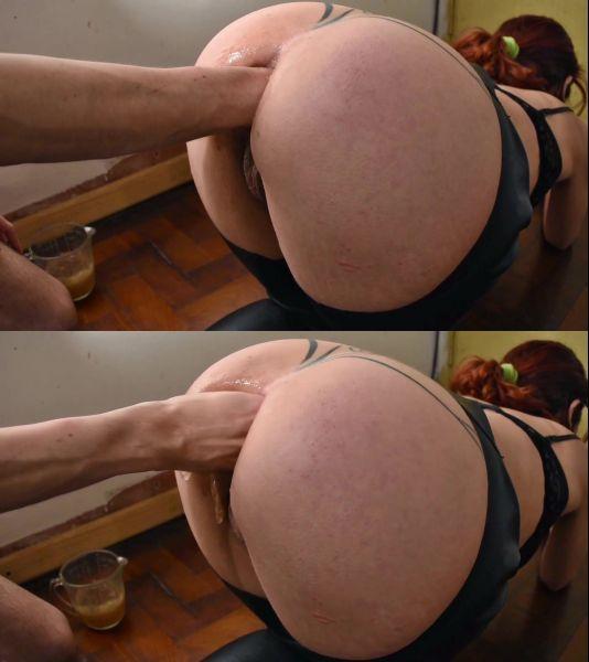 ArgenDana - Big Ass Fisting in Latex [FullHD 1080p] (ManyVids)