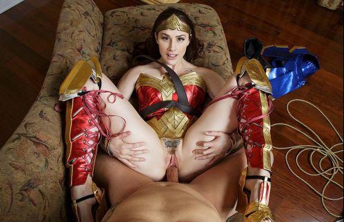 Wonder Woman A XXX Parody - Chanel Preston Oculus