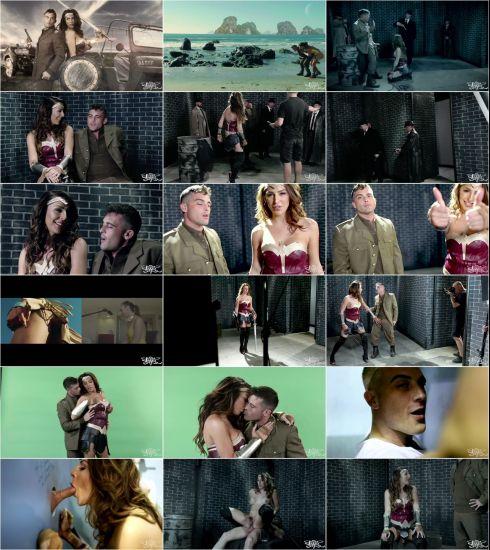 Chanel Santini - BTS - Wonder Woman: A XXX Trans Parody [FullHD 1080p] (TransAngels)