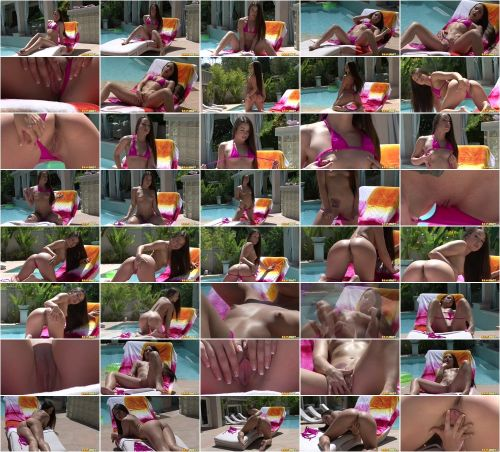 "Lola Foxx ""Cerise Thong Micro Bikini"""
