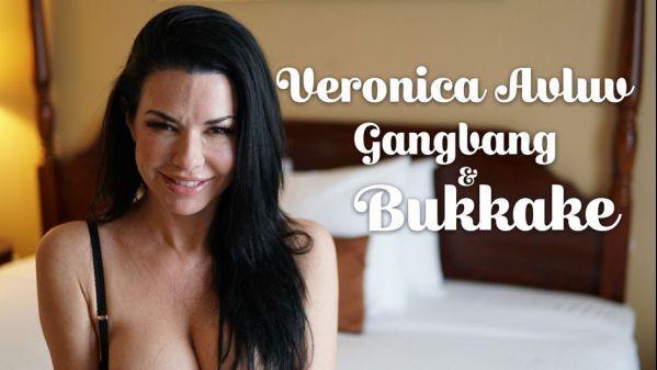TexxxasBukkake: Veronica Avluv - Gangbang & Bukkake - 11.02.2018 (FullHD/2018)