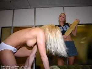 Nude Sorority Paddling - image3