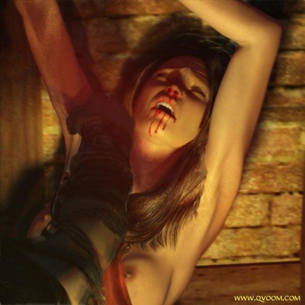 [Guro] [Quoom] Fallen Patrician [pussy torture]