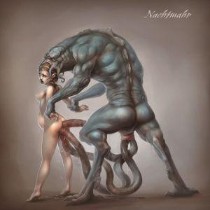 [Hentai Artwork] Art by Nachtmahr [tentacles]
