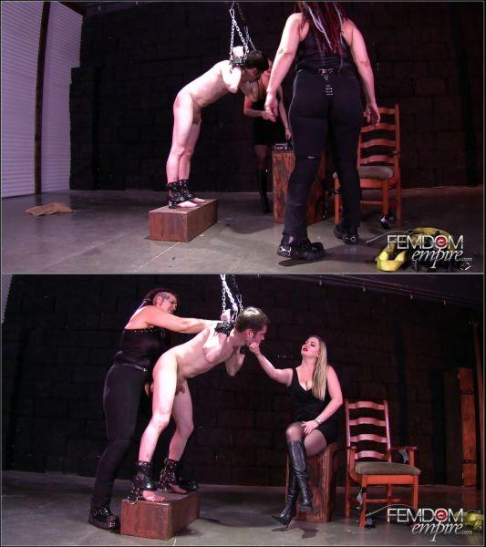 Lexi Sindel, Saharra Huxley - Strap-on Interrogation [FullHD 1080p] (FemdomEmpire)