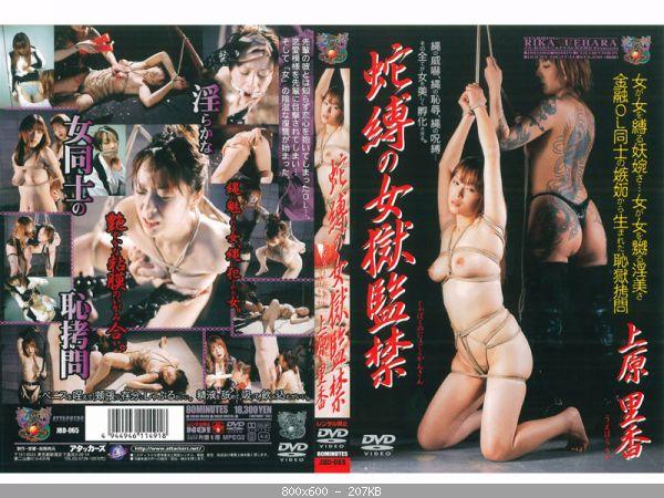 [JBD-065] 蛇縛の女獄監禁 上原里香 OL SM レズ 単体作品