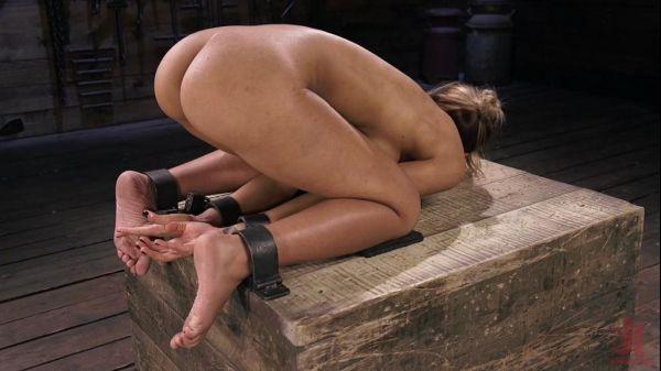 Demi Lopez - Busty Latina Slut Is Tormented in Grueling Bondage