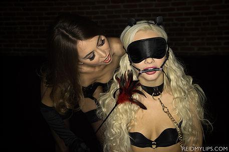 Riley Reid and Elsa Jean - Dom Sub