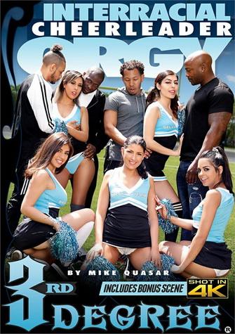 Interracial Cheerleader Orgy
