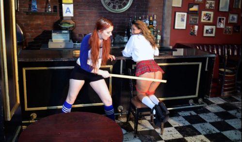 episode0154 1 - spankingsororitygirls – MP4/Full HD – Veronica Ricci,Joy Luck - EPISODE 154 VERONICA SPANKS JOY AT THE BAR