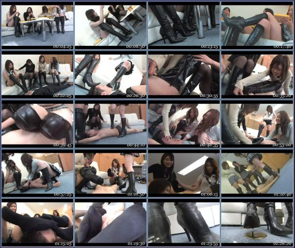BYD-68 Yokohama Fetish Boots GAL