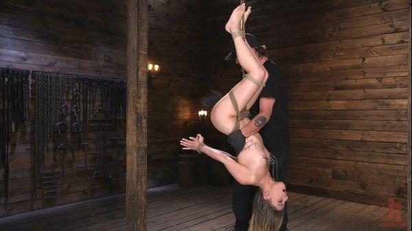 Kristen Scott - Girl Next Door in Brutal Predicament Bondage with Screaming Orgasms
