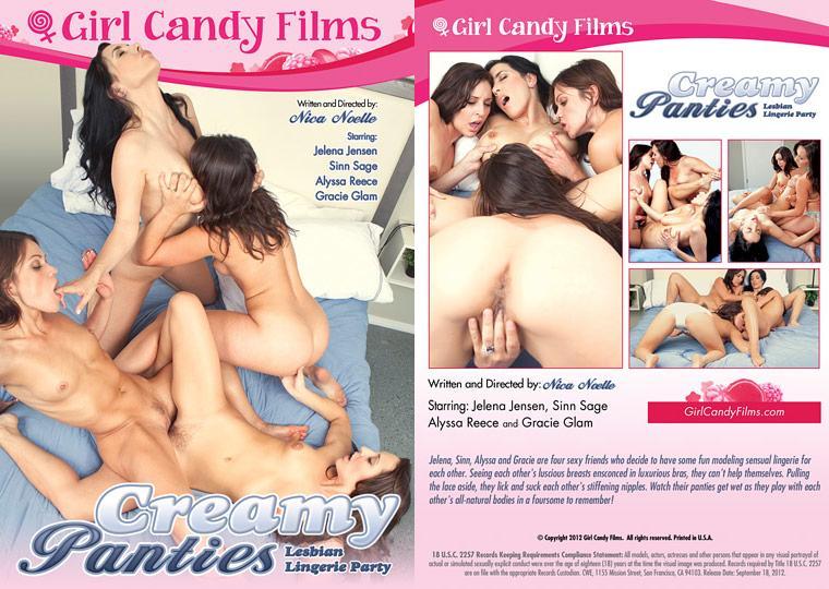 Creamy Panties: Lesbian Lingerie Party (2012)