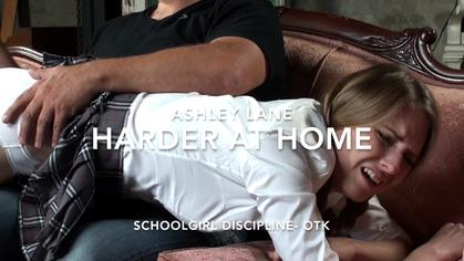 assumethepositionstudios – MP4/HD –  THE MASTER,ASHLEY LANE – ASHLEY LANE HARDER AT HOME – SCHOOLGIRL DISCIPLINE OTK download for free
